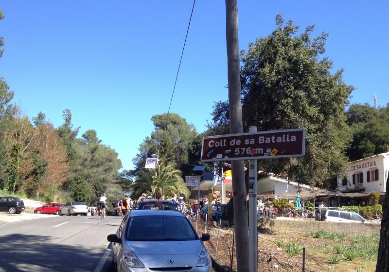 Coll de sa Batalla von Caimari zum Kloster Lluc, 2014