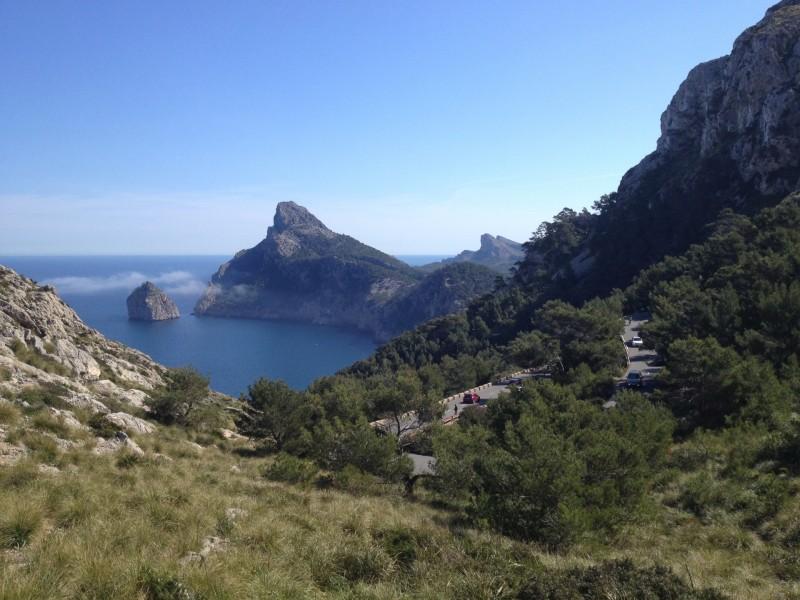 Aussichtsplatform 1 auf dem Weg nach Cap Formentor, 2014