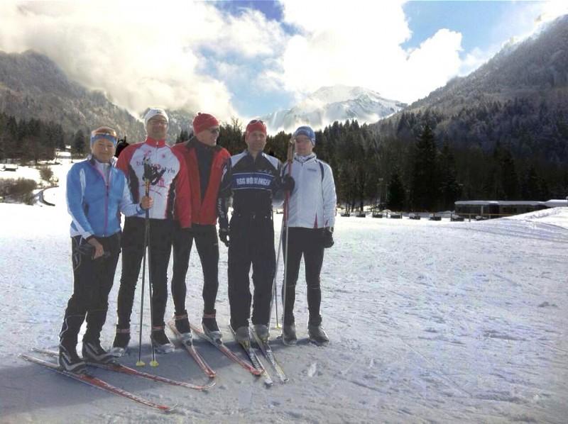 von links: Ulrike Bäuerle, Ralf Garmeister, Michael Klose, Klaus Scheele und Torsten Völkel.