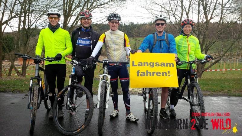 Von links: Fabian Wolfgang, Klaus Scheele, Torsten Völkel, Melvin Busch (von der RSG Osthelden) und Vera Mayer.