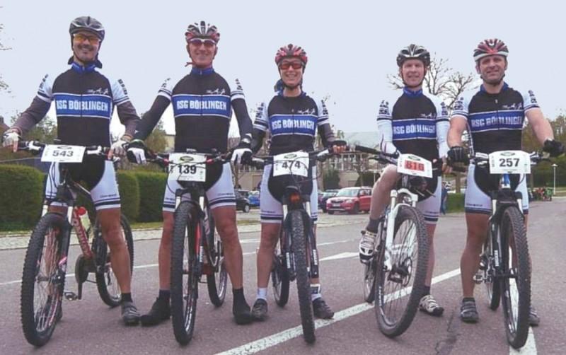 Von links: Manfred Stäbler, Michael Klose, Vera Mayer, Torsten Völkel und Klaus Scheele.