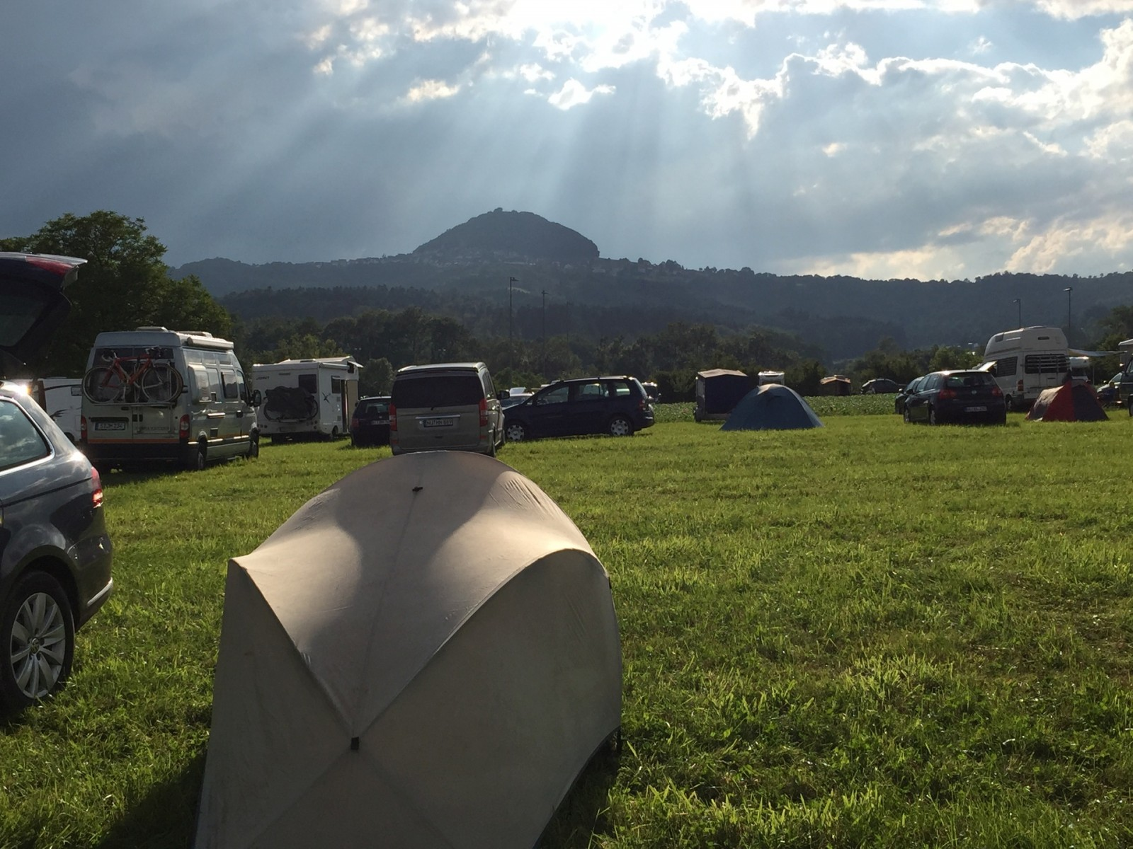 Alb-Extrem 2015 - Camping in Ottenbach