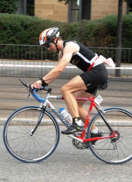 Philipp auf dem Rad.