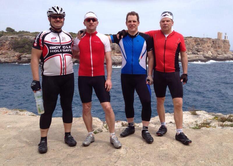 Cala Figuera 2014, Herbert, Jürgen, Ralph und Andy