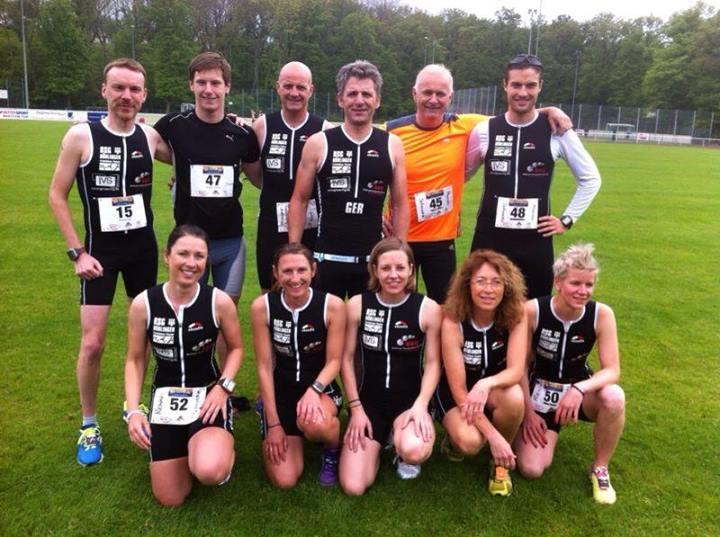 Team Männer und Frauen