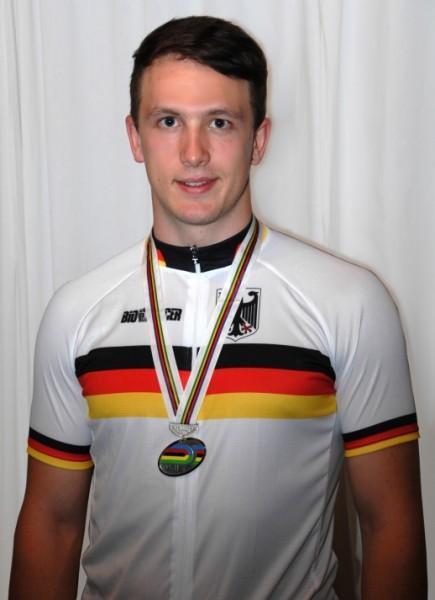 WM Silber für Marc Jurczyk bei der Junioren-Bahnweltmeisterschaft in Gwangmyeong in Südkorea 2014