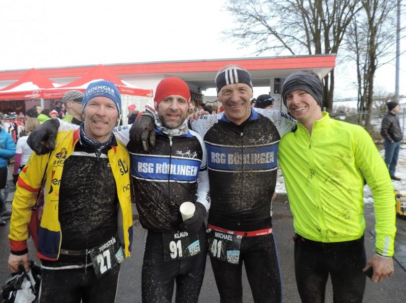 von links: Torsten, Klaus, Micha und Fabi.