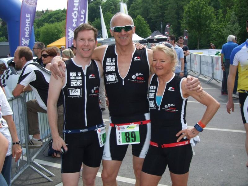 Von links: Torsten Völkel, Michael Klose und Ulrike Bäuerle.