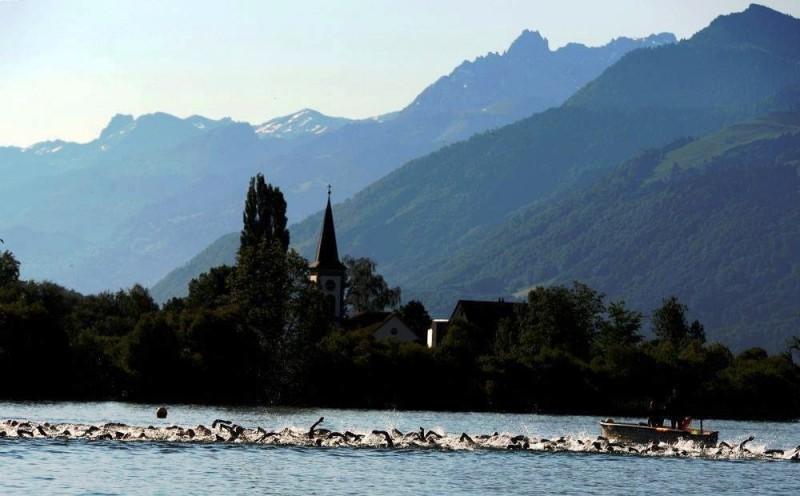 Zürichsee in der Schweiz