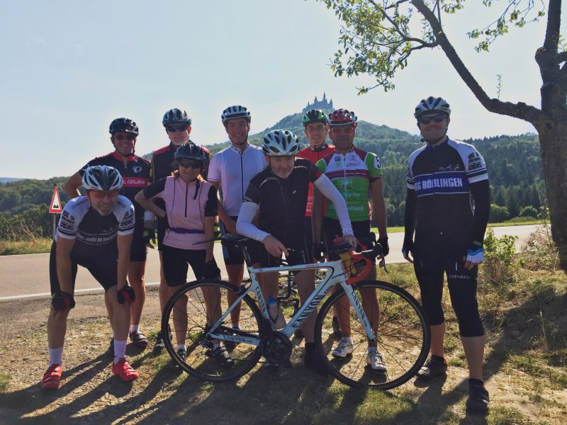 Von links: Wolfgang, Stefan, Hartmut, Brigitte, Moritz, Ralf, Peter, Jürgen(?) und Herbert